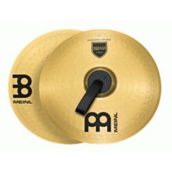 "PLATILLO MEINL 16"" BRASS MARCHING CYMBAL MA-BR-16M"