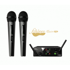 MICROFONO INALAMBRICO AKG WMS40 MINI DOBLE VOCAL