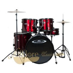 BATERIA POWER DRUMS PD-04 WRD/WR