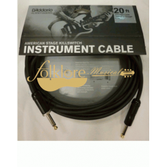 CABLE P/ GUIT. PLANET WAVES KILLSWITCH 20 AMSK-20