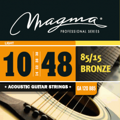 CUERDA MAGMA ACUSTICA GA120B85 0.10 BRONZE