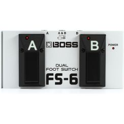 PEDAL BOSS FS6 DUAL FOOT SWITCH