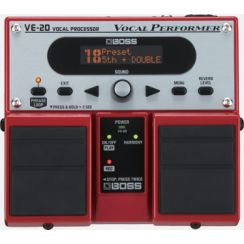 PEDAL VOCAL BOSS VE-20