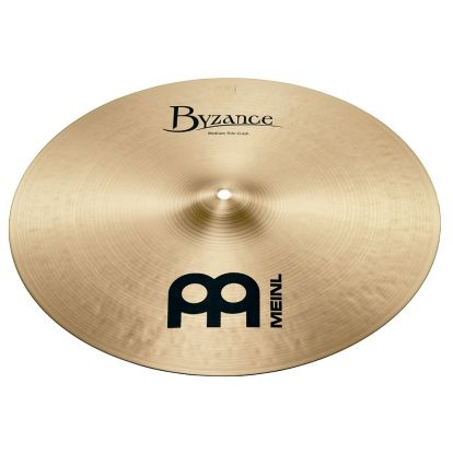 "Platillo Meinl 19"" Byzance Traditional Medium Thin Crash"
