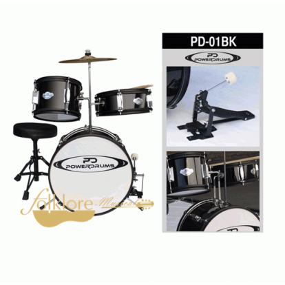 BATERIA INFANTIL POWER DRUMS PD-01