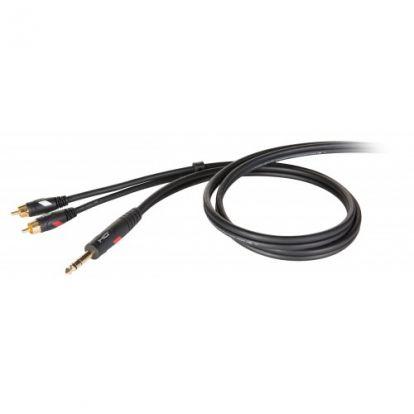 CABLE PROEL DHS530LU1.8 METROS PLUG STEREO/RCA