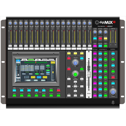 CONSOLA ASHLY DIGIMIX 18